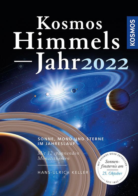 Cover-Bild Kosmos Himmelsjahr 2022