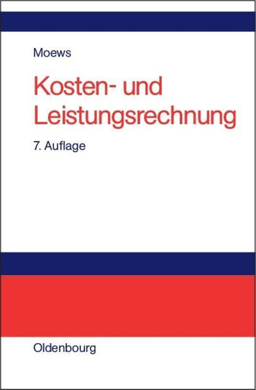 Cover-Bild Kosten- und Leistungsrechnung