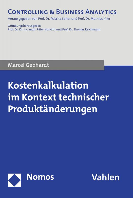 Cover-Bild Kostenkalkulation im Kontext technischer Produktänderungen