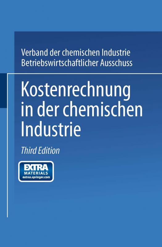 Cover-Bild Kostenrechnung in der Chemischen Industrie