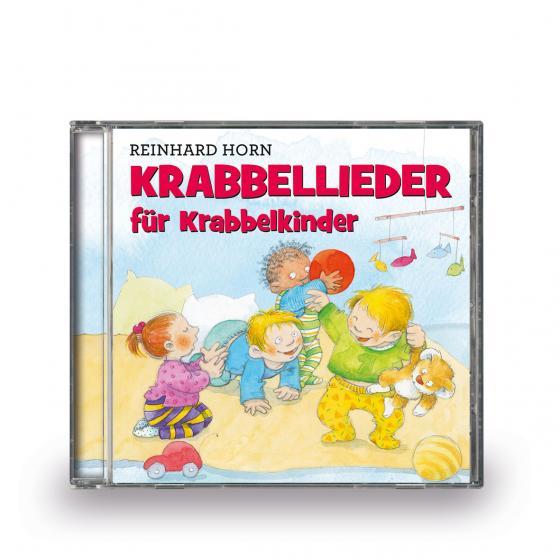 Cover-Bild Krabbellieder für Krabbelkinder