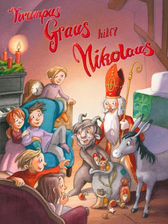 Cover-Bild Krampus Graus hilft Nikolaus