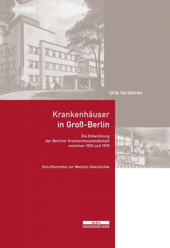 Cover-Bild Krankenhäuser in Groß-Berlin