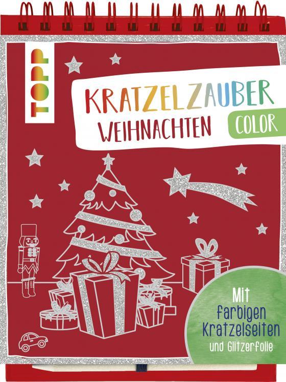 Cover-Bild Kratzelzauber Color Weihnachten