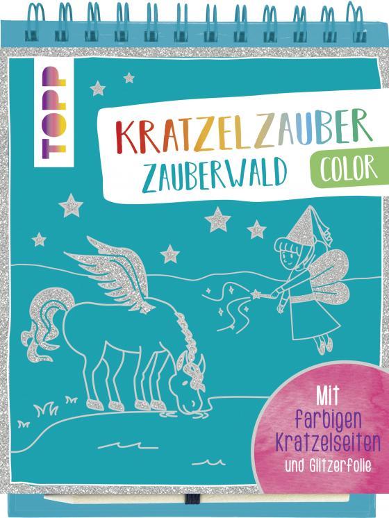 Cover-Bild Kratzelzauber Color Zauberwald