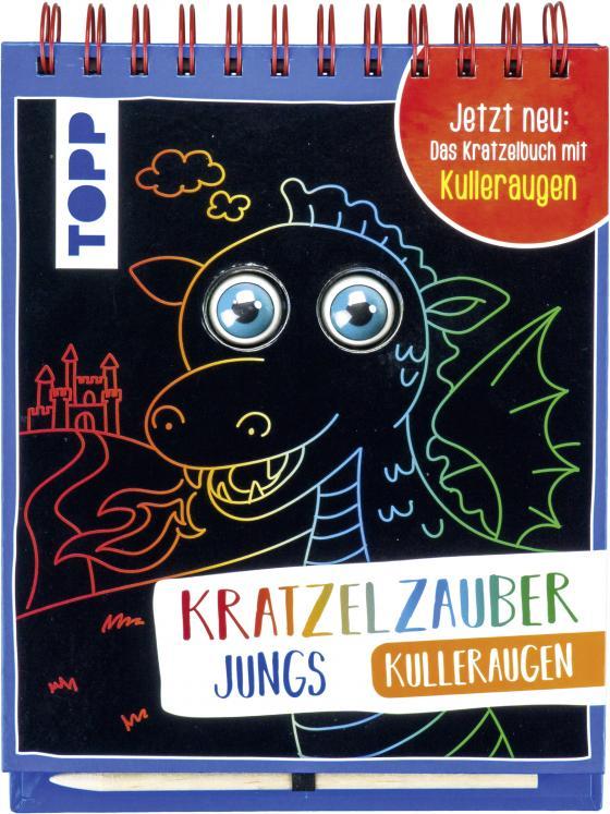 Cover-Bild Kratzelzauber Kulleraugen für Jungs