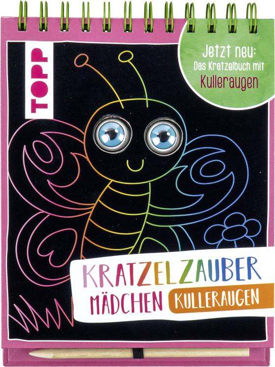 Cover-Bild Kratzelzauber Kulleraugen für Mädchen