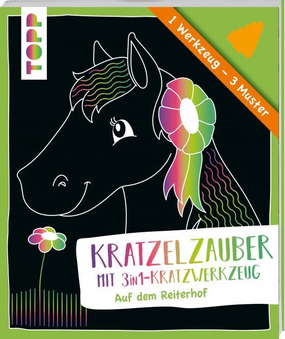 Cover-Bild Kratzelzauber mit Kratzwerkzeug Auf dem Reiterhof