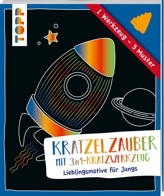 Cover-Bild Kratzelzauber mit Kratzwerkzeug Jungs