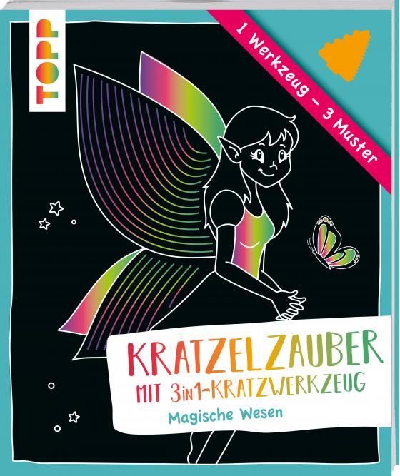 Cover-Bild Kratzelzauber mit Kratzwerkzeug Magische Wesen