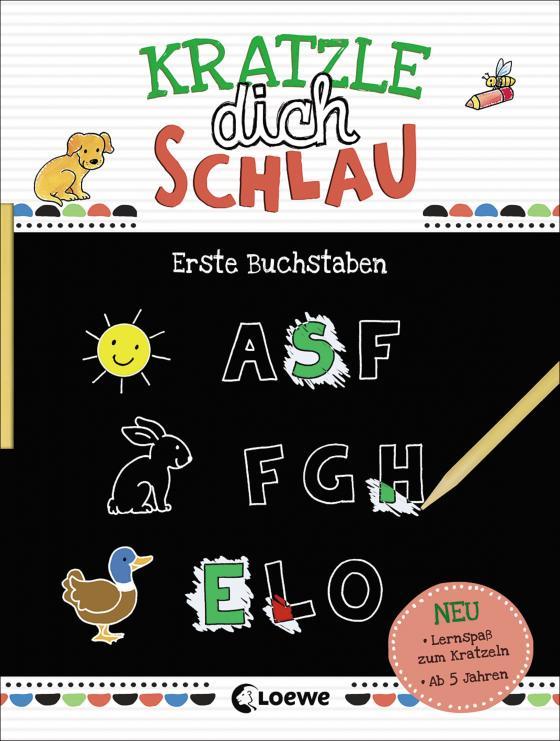 Cover-Bild Kratzle dich schlau - Erste Buchstaben