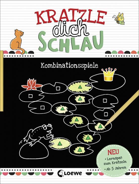 Cover-Bild Kratzle dich schlau - Kombinationsspiele