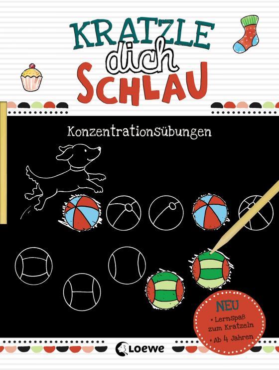 Cover-Bild Kratzle dich schlau - Konzentrationsübungen