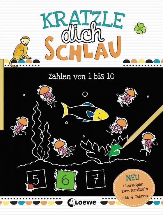 Cover-Bild Kratzle dich schlau - Zahlen von 1 bis 10