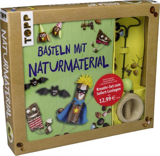 Cover-Bild Kreativ-Set Basteln mit Naturmaterial