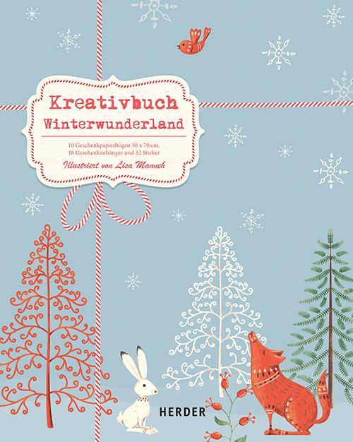 Cover-Bild Kreativbuch Winterwunderland