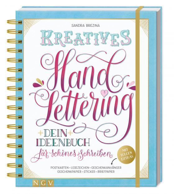 Cover-Bild Kreatives Handlettering