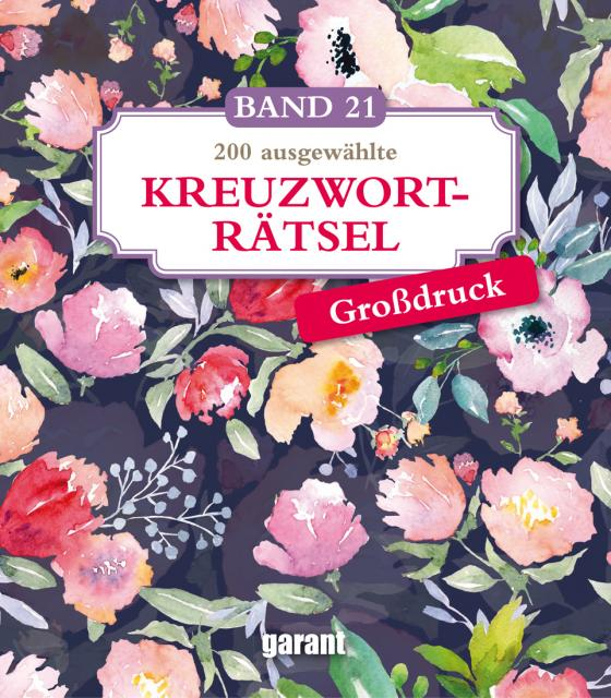 Cover-Bild Kreuzworträtsel Deluxe Groß- Band 21