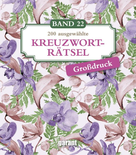 Cover-Bild Kreuzworträtsel Deluxe Groß- Band 22