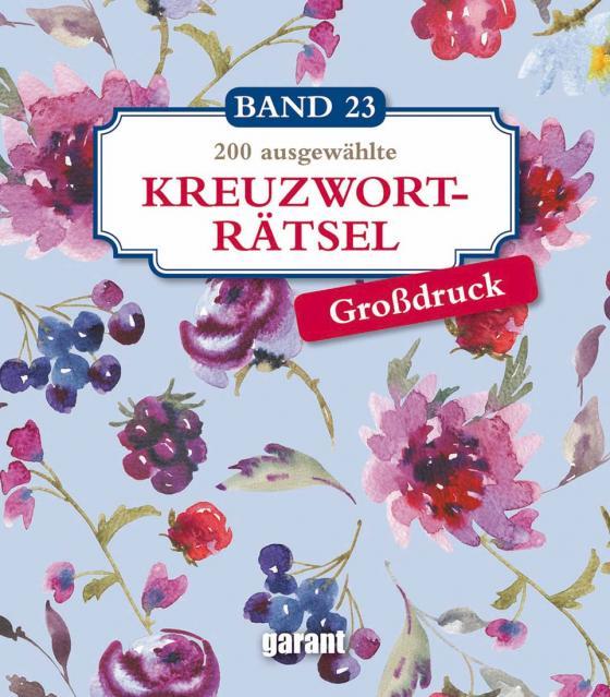 Cover-Bild Kreuzworträtsel Deluxe Groß- Band 23