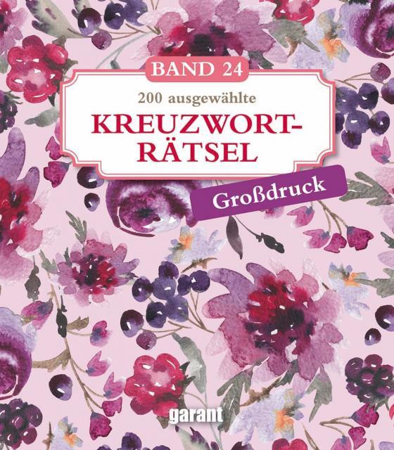 Cover-Bild Kreuzworträtsel Deluxe Groß- Band 24