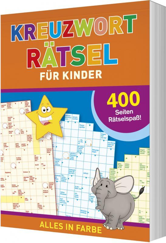 Cover-Bild Kreuzworträtsel für Kinder