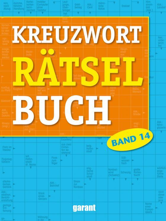 Cover-Bild Kreuzworträtselbuch Band 14