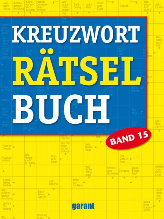 Cover-Bild Kreuzworträtselbuch Band 15
