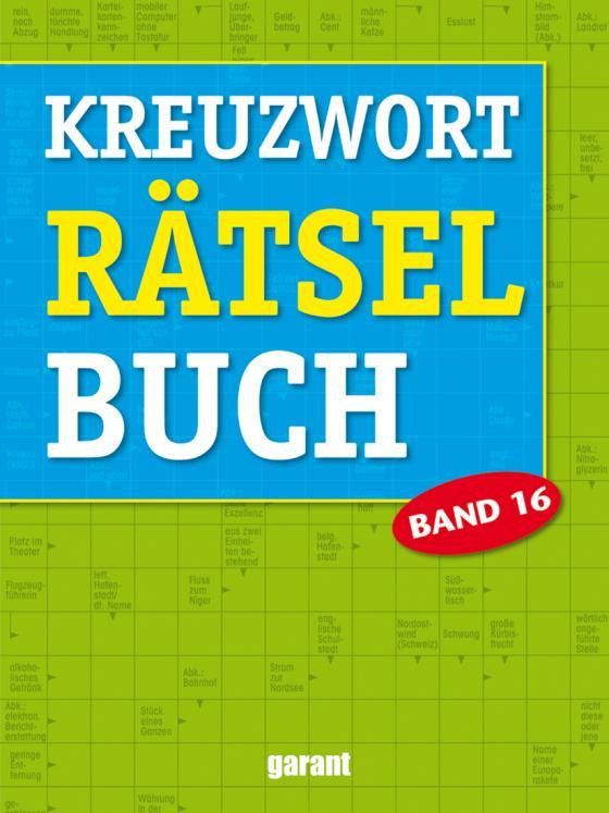 Cover-Bild Kreuzworträtselbuch Band 16