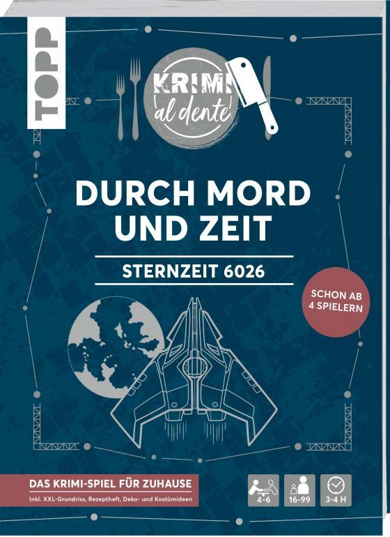 Cover-Bild Krimi al dente - Sternzeit 6026 - Durch Mord und Zeit