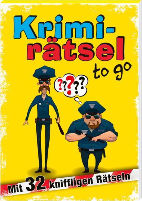 Cover-Bild Krimirätsel to go