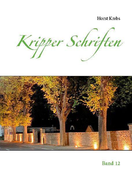 Cover-Bild Kripper Schriften