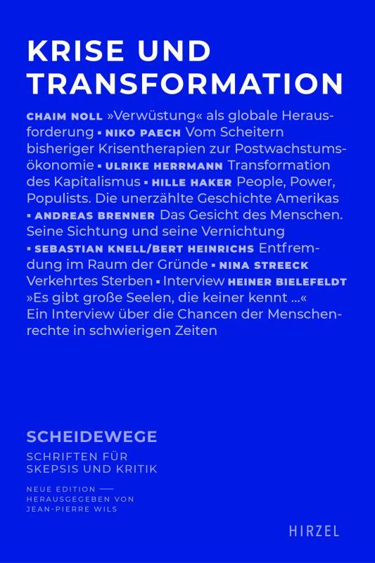 Cover-Bild Krise und Transformation