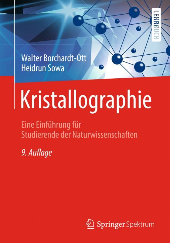 Cover-Bild Kristallographie