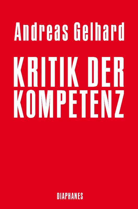 Cover-Bild Kritik der Kompetenz
