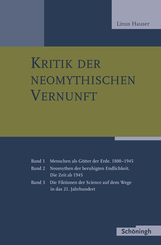 Cover-Bild Kritik der neomythischen Vernunft