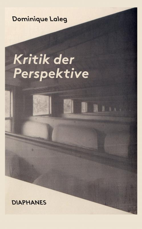 Cover-Bild Kritik der Perspektive