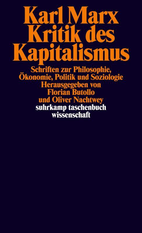 Cover-Bild Kritik des Kapitalismus
