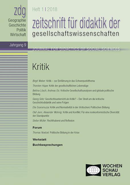Cover-Bild Kritik