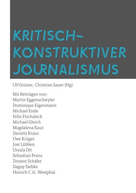 Cover-Bild Kritisch-konstruktiver Journalismus