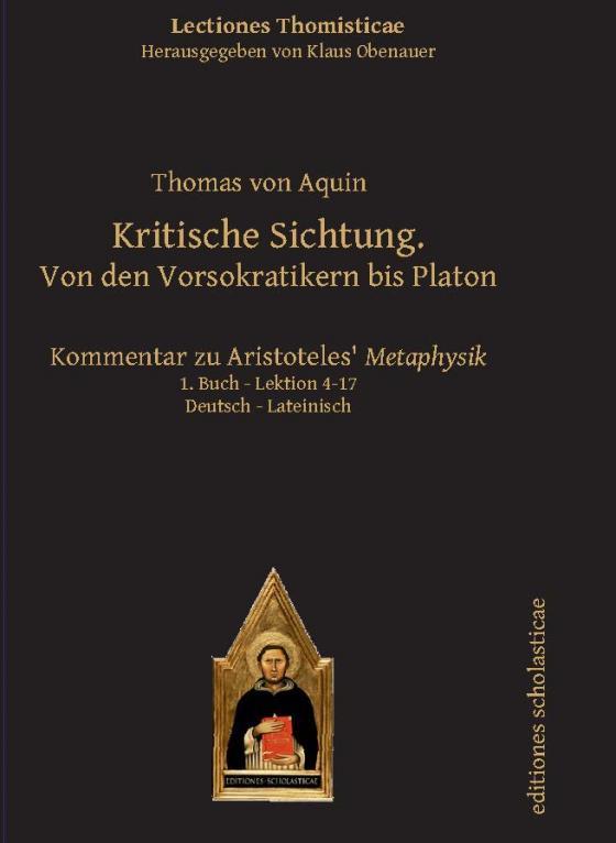Cover-Bild Kritische Sichtung. Von den Vorsokratikern bis Platon
