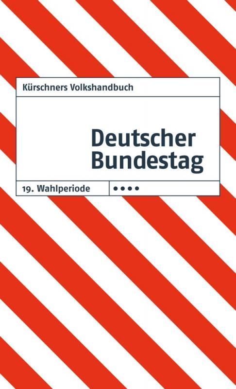 Cover-Bild Kürschners Volkshandbuch Deutscher Bundestag