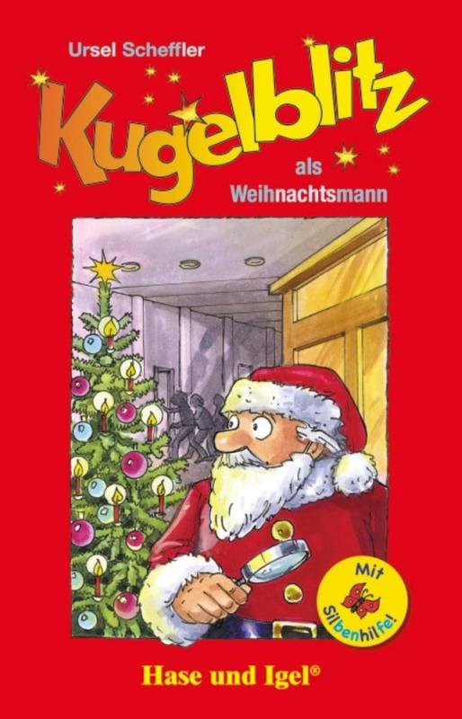 Cover-Bild Kugelblitz als Weihnachtsmann / Silbenhilfe