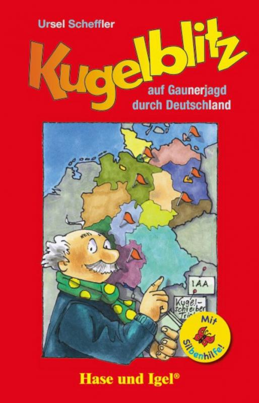Cover-Bild Kugelblitz auf Gaunerjagd durch Deutschland / Silbenhilfe