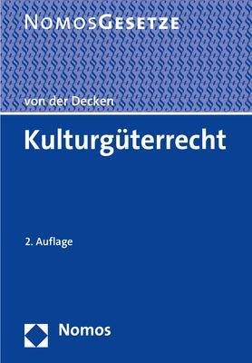 Cover-Bild Kulturgüterrecht