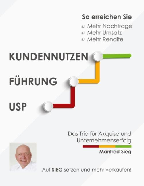 Cover-Bild Kundennutzen. Führung. USP