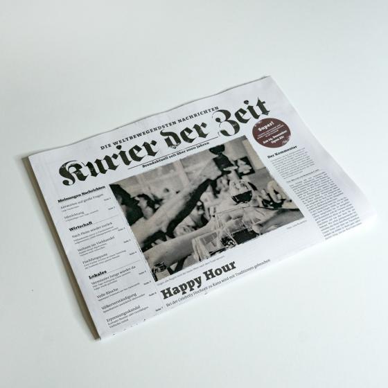 Cover-Bild Kurier der Zeit