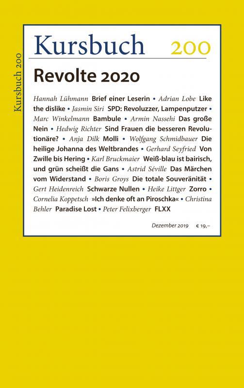Cover-Bild Kursbuch 200