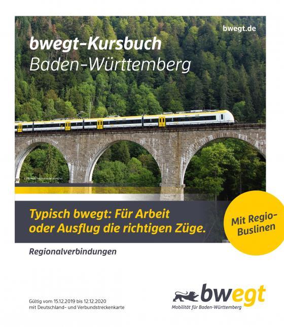 Cover-Bild Kursbuch Baden-Württemberg 2020