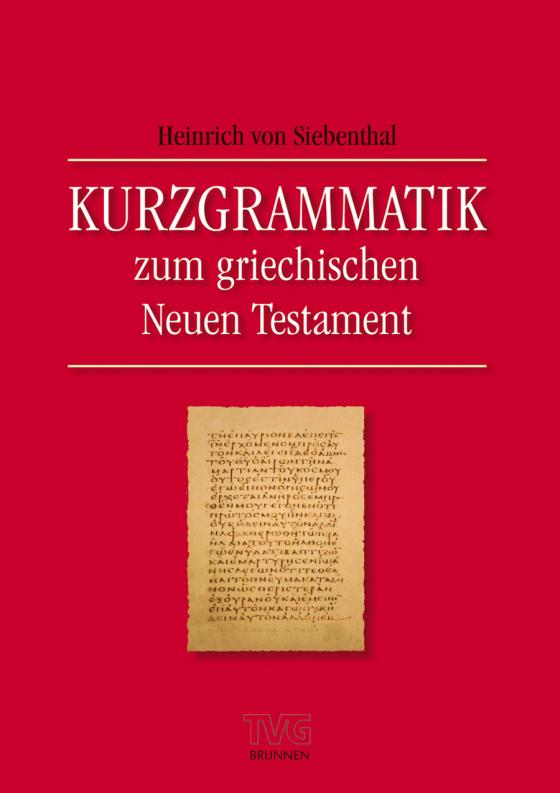 Cover-Bild Kurzgrammatik zum griechischen Neuen Testament